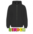 Kinder Zip Through Hooded Sweat